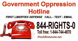 Government Oppression Hotline
