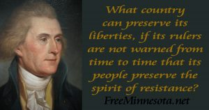 Jefferson Preserve the spirit of resistance