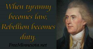 Jefferson - Tyranny - Duty