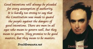 Daniel Webster Quote on Authority